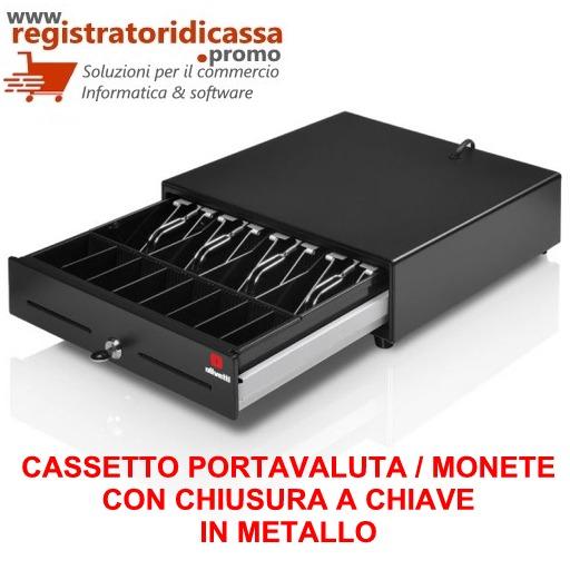 CASSETTO PORTAVALUTA PER REGISTRATORE DI CASSA