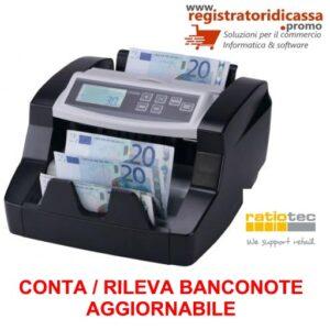 RILEVATORE BANCONOTE RAPID COUNT B20