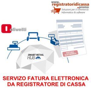 SERVIZO FATTURAZIONE ELETTRONICA DA REGISTRATORE DI CASSA