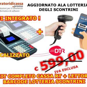DTR D-CASH + RT WIFI KIT LOTTERIA SCONTRINI