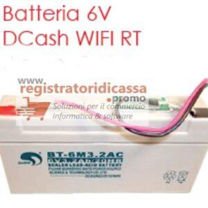 BATTERIA DTR D-CASH + RT WIFI